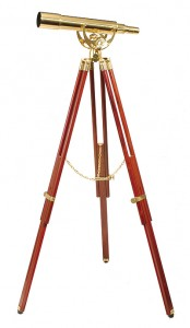 Fine Brass 2060 Traditional Solid Brass Telescope