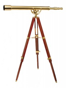 Fine Brass 6040 Traditional Solid Brass Telescope