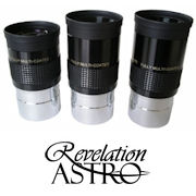 Revelation Astro Eyepieces and Barlows