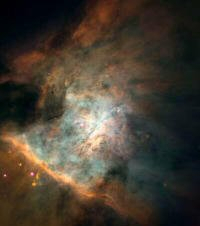Courtesy of NASA and Space Telescope Science Institute. Credit: NASA, C.R. O'Dell and S.K. Wong (Rice University) The Orion nebula (M41)