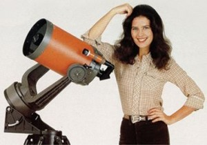 "The Celestron telescope ""C8"" as advertised back in the 1970's."