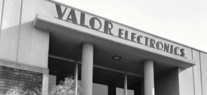 The Valor Electronics company building as it appeared in the 1950's.