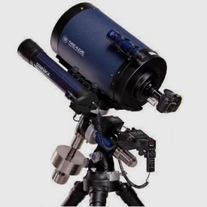 This is the Meade LX850 with Starlock, a new standard in astrophotograhic and visual performance. The fast f/8 Advanced Coma Free optical system produces a wider, flatter field with no coma for pinpoint stars out to the edge of larger imaging sensors and extreme wide angle eyepieces.