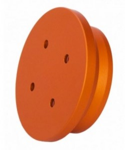 Geoptik Adaptor Puck For NEQ6/AZ-EQ6GT Mounts To Use Universal Mounting Plate