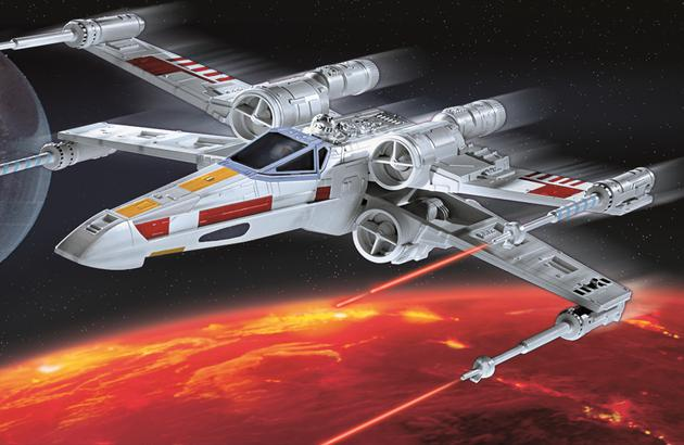 revell star wars x wing fighter luke skywalker. Black Bedroom Furniture Sets. Home Design Ideas
