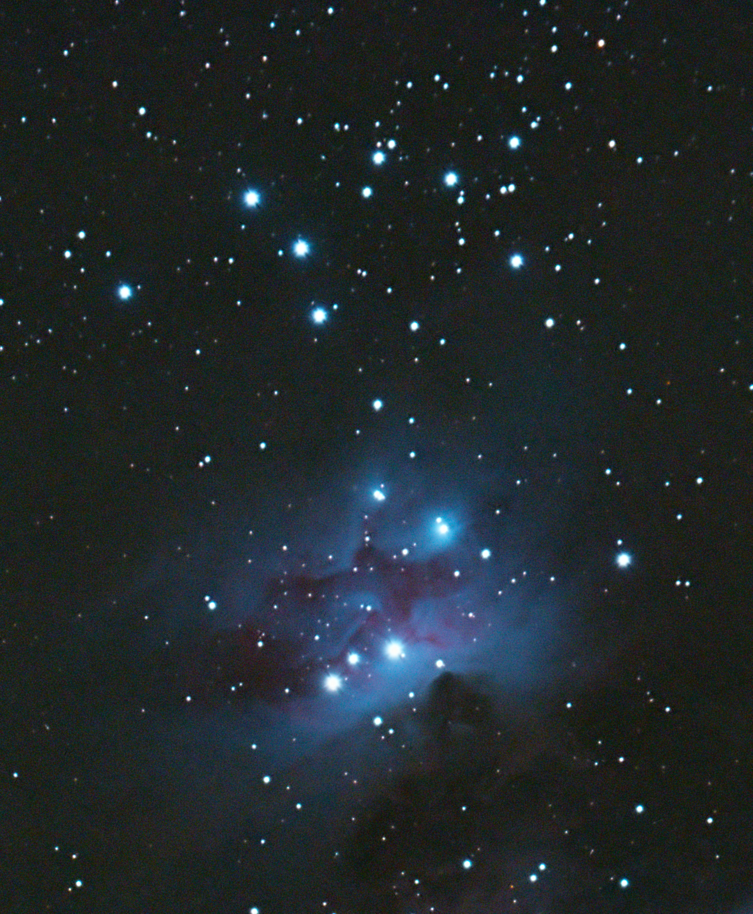 NGC1981. Image credit: Astrobase North West